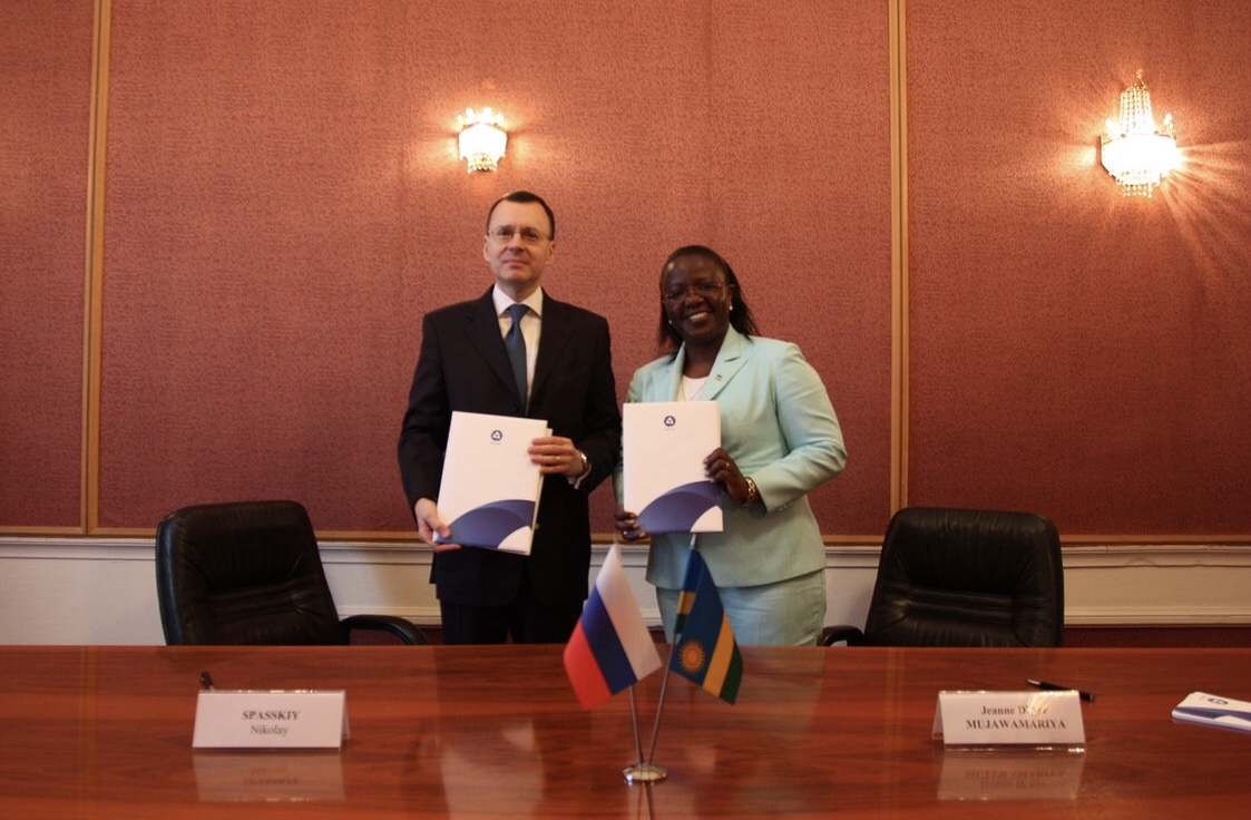 Russia and Rwanda: first biletaral document on peaceful uses of atomic energy
