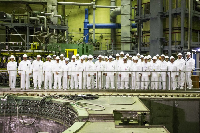 First criticality procedures begin at the Unit 1 of Leningrad NPP-2, a Generation III+ plant