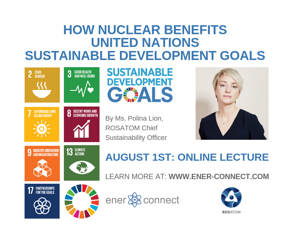 Nuclear webinar in support of UN Sustainable Development Goals