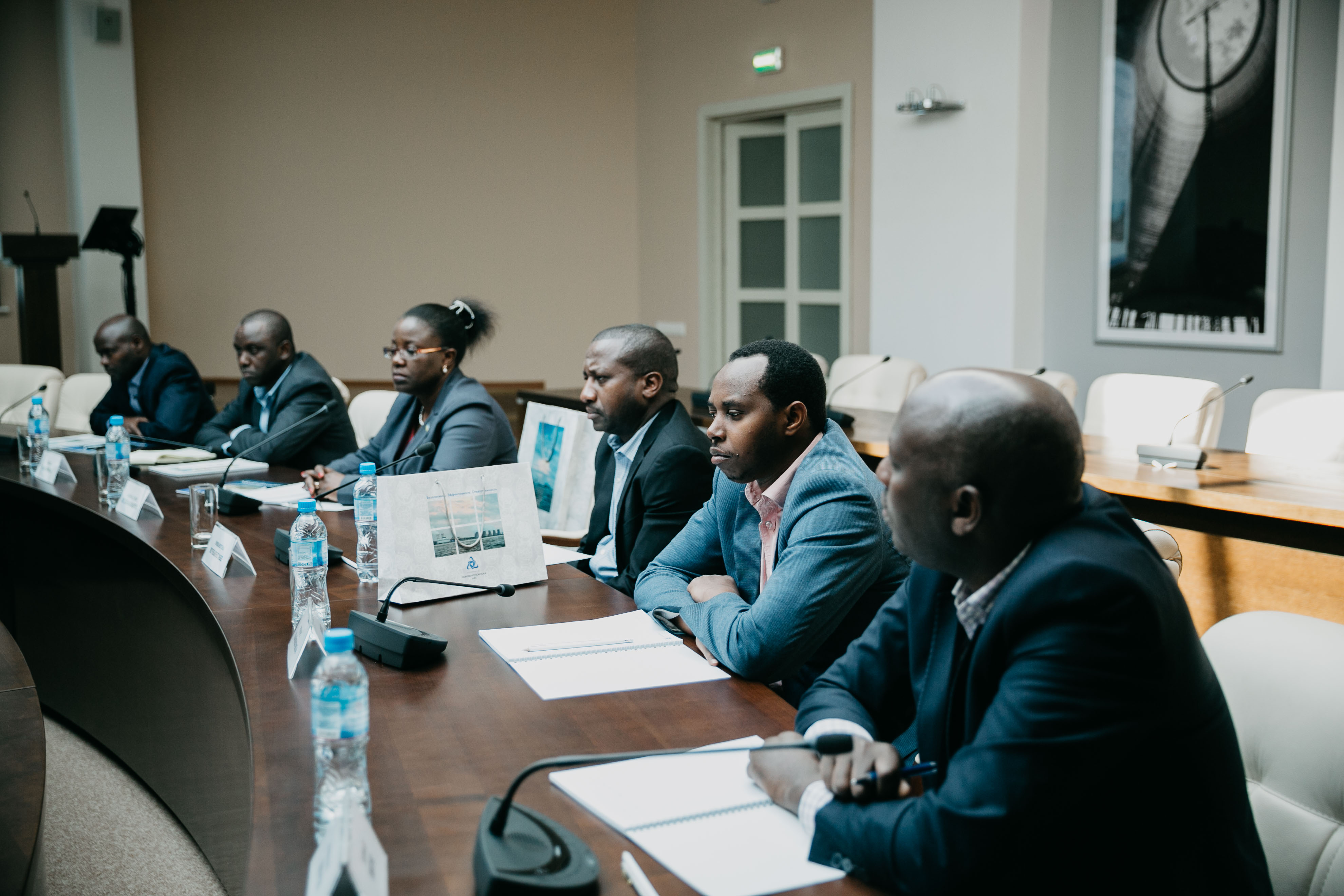 Rwanda Delegation Visits Nuclear Facilities in Russia