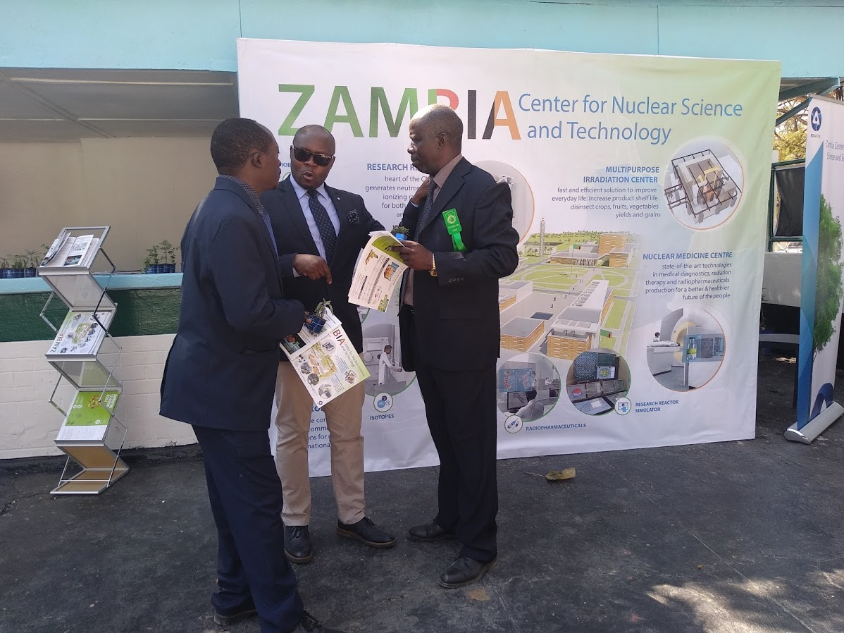 Zambia Center for Nuclear Science and Technology premiered  at the 2018 Zambia Agriculture and Commercial Show
