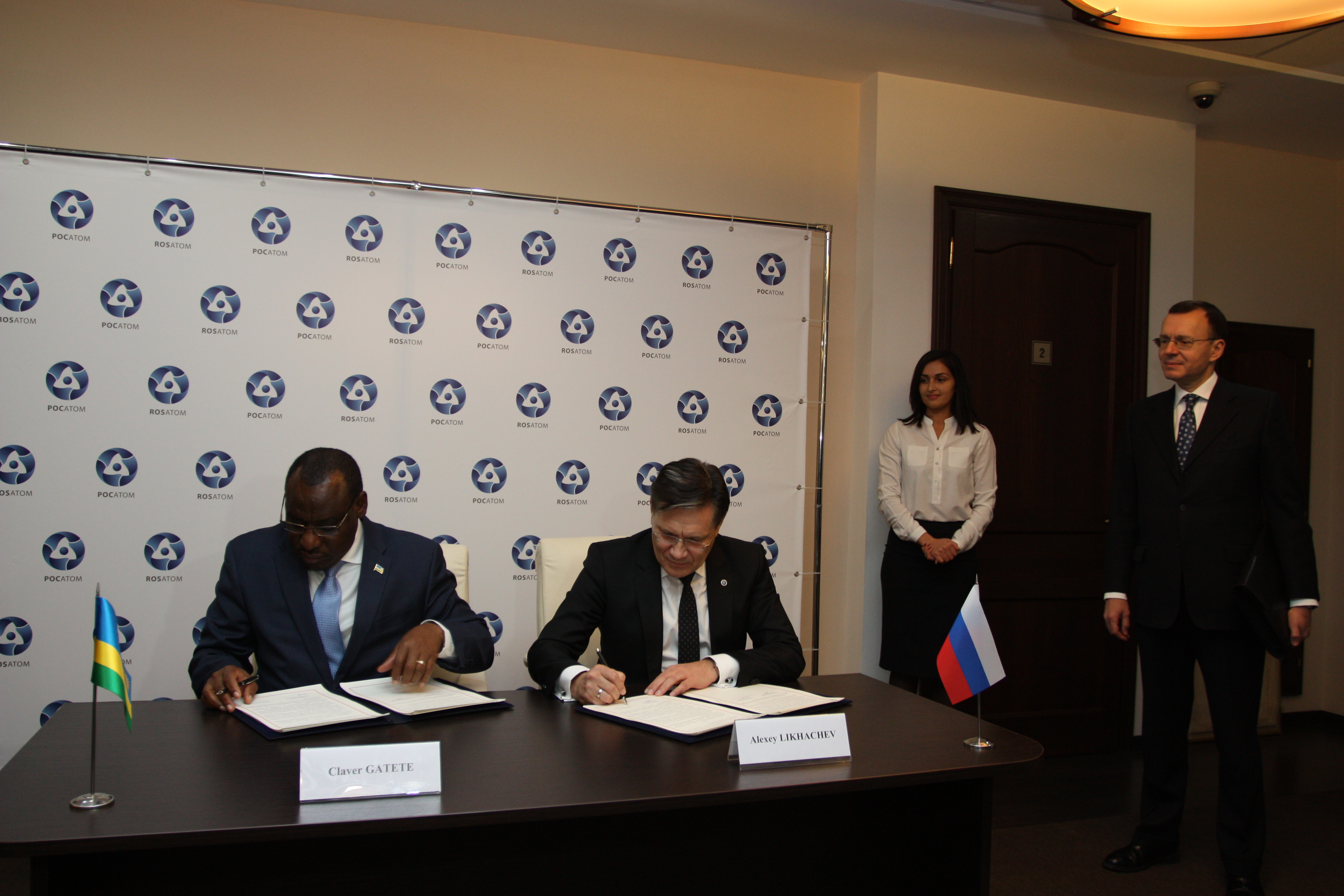 Russia and the Republic of Rwanda develop cooperation in the field of peaceful use of atomic energy