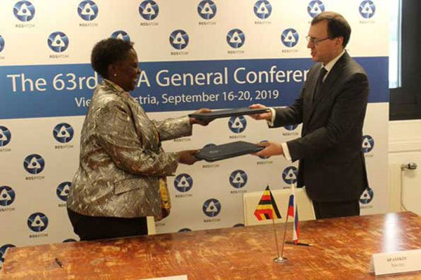 Russia and Uganda sign intergovernmental agreement on cooperation in the peaceful use of nuclear energy